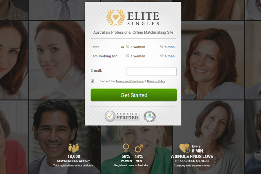 Elite online dating australia