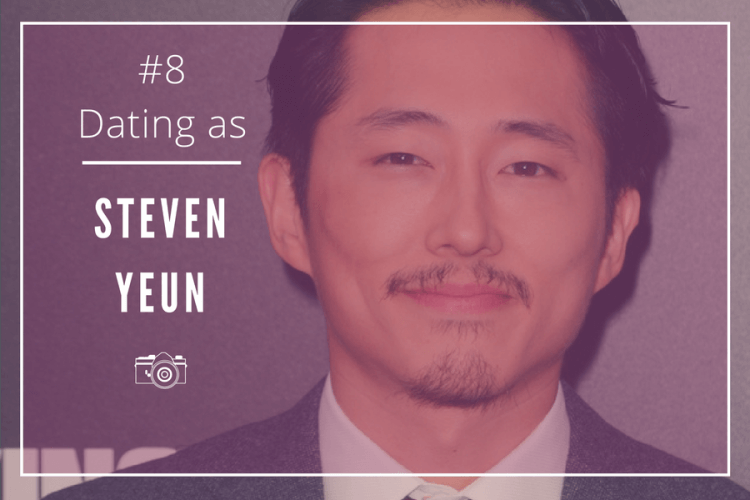 dating as steven yeun