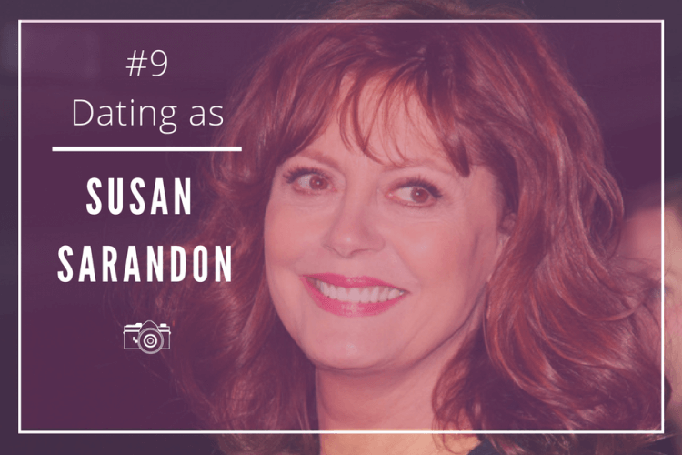 dating as susan sarandon