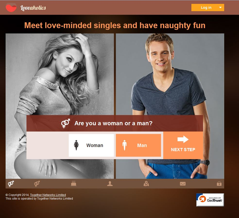 Dating sites: LoveAholics