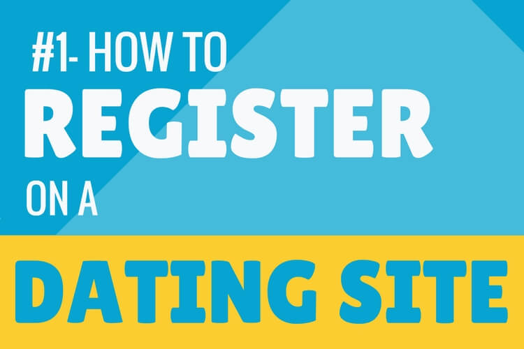 How to register on a dating site