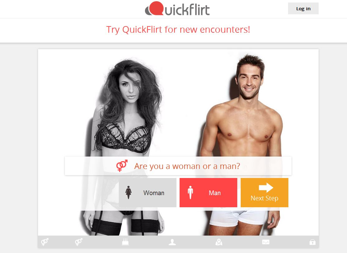 Dating sites: Quickflirt