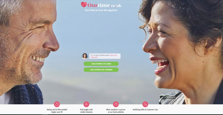 ourtime dating over 50
