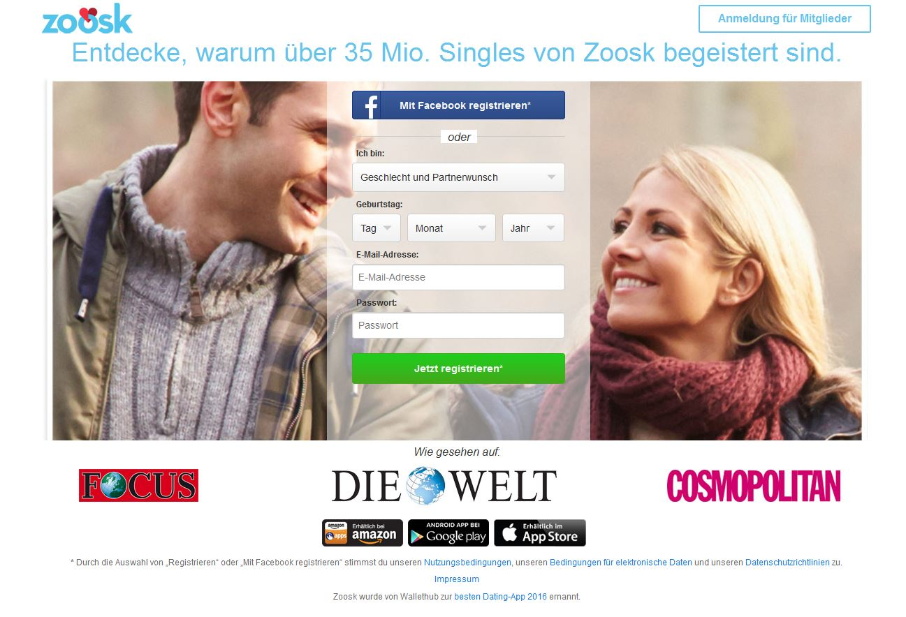 Dating-Website-App-Bewertungen