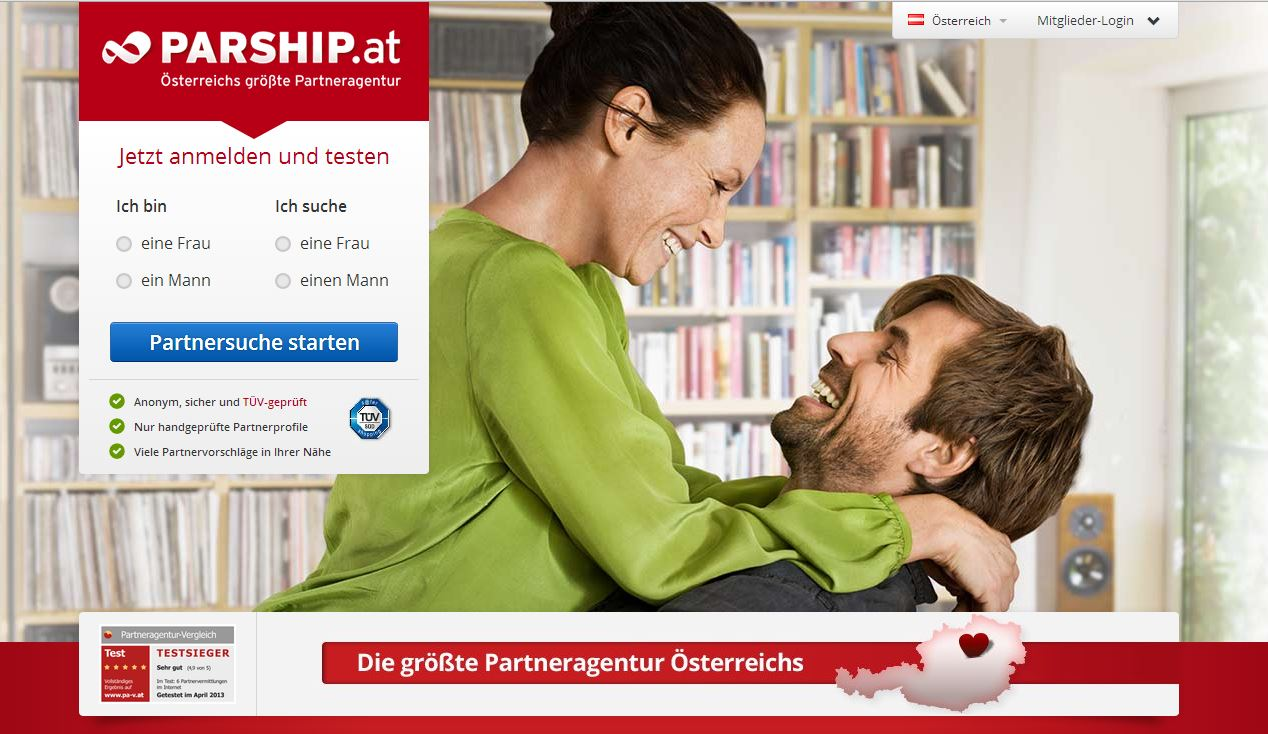 Singlebörsen: Parship.at