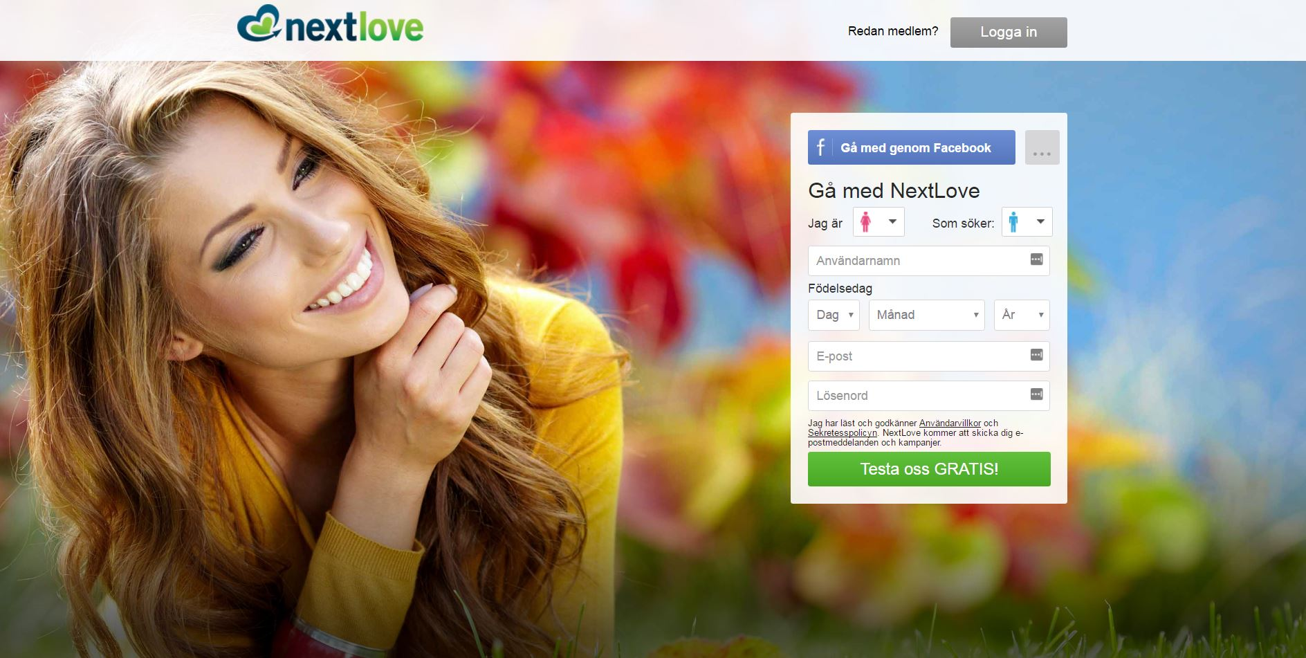 Dating sites: Nextlove