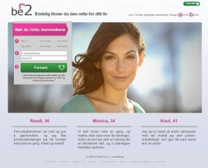 Dating sites: Be2.dk