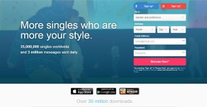 Dating sites: Zoosk
