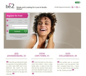 Dating sites: Be2