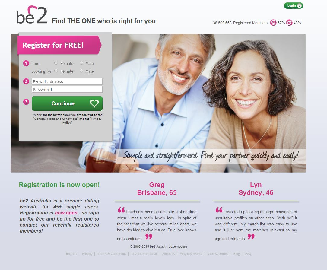 Zunder Dating-Website Australien
