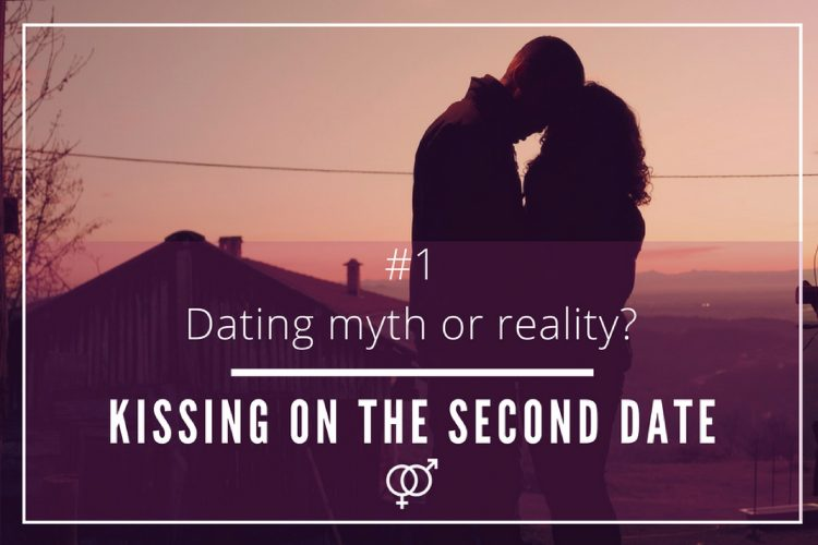 second date kissing