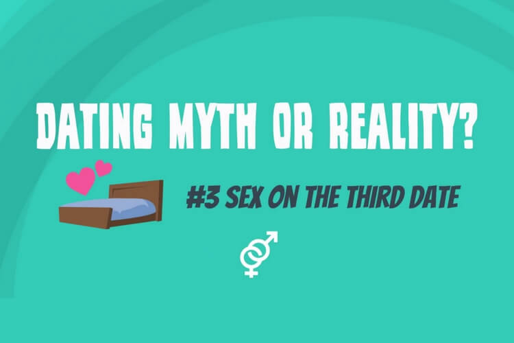 Is sex on the third date a dating myth?