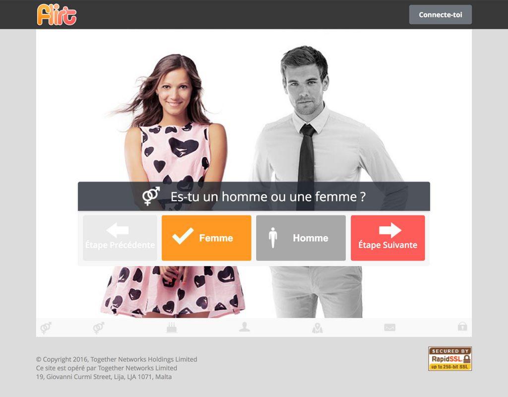 Flirt com website
