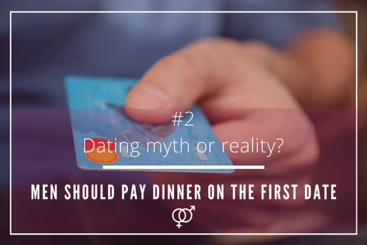 Dating myth or reality – Men should pay dinner on the first date