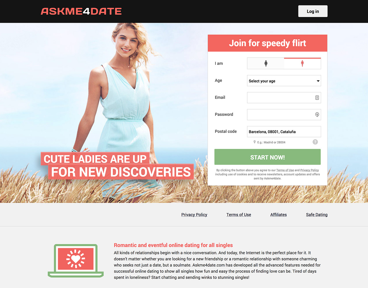 Dating sites: AskMe4Date