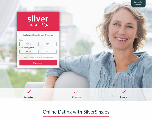 Dating sites: SilverSingles