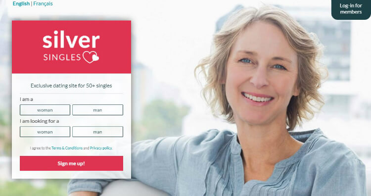 SilverSsingles Canada register for free