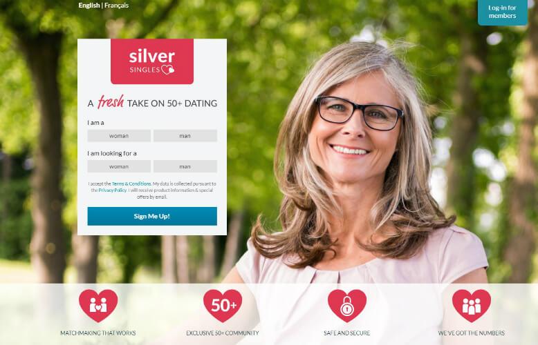 över 50 dating site Kanada