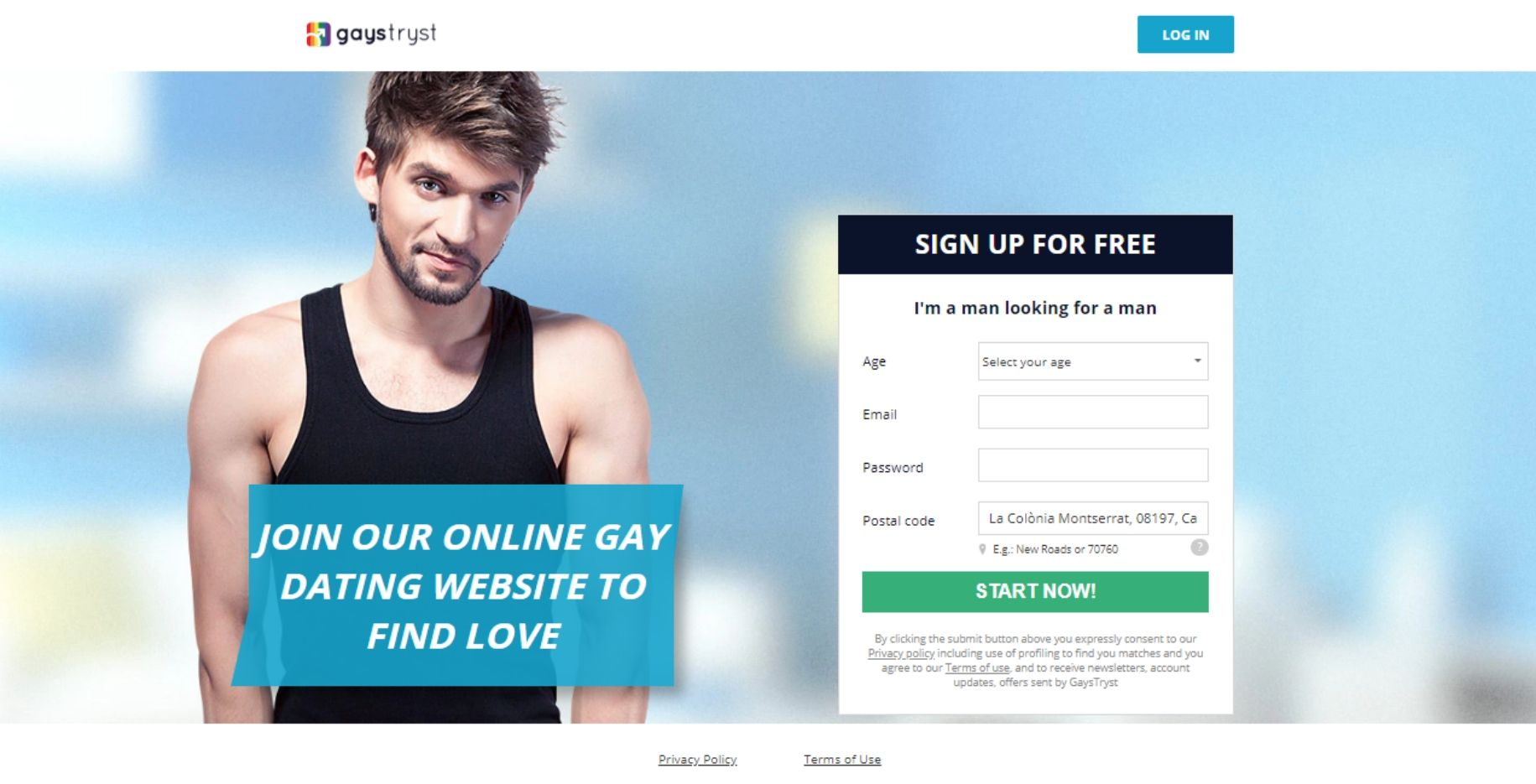 gaystryst free registration