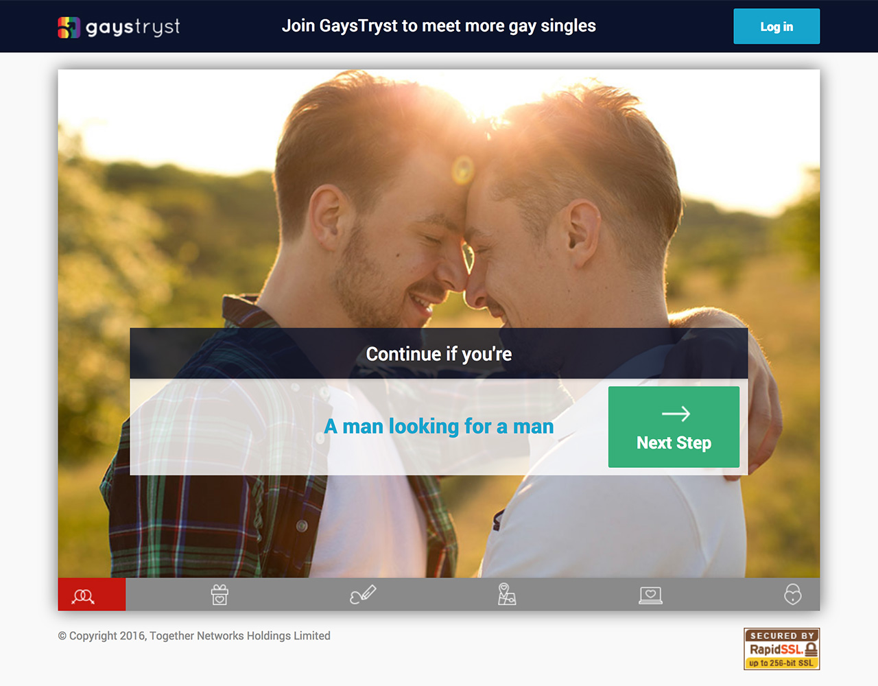 Dating sites: Gaystryst