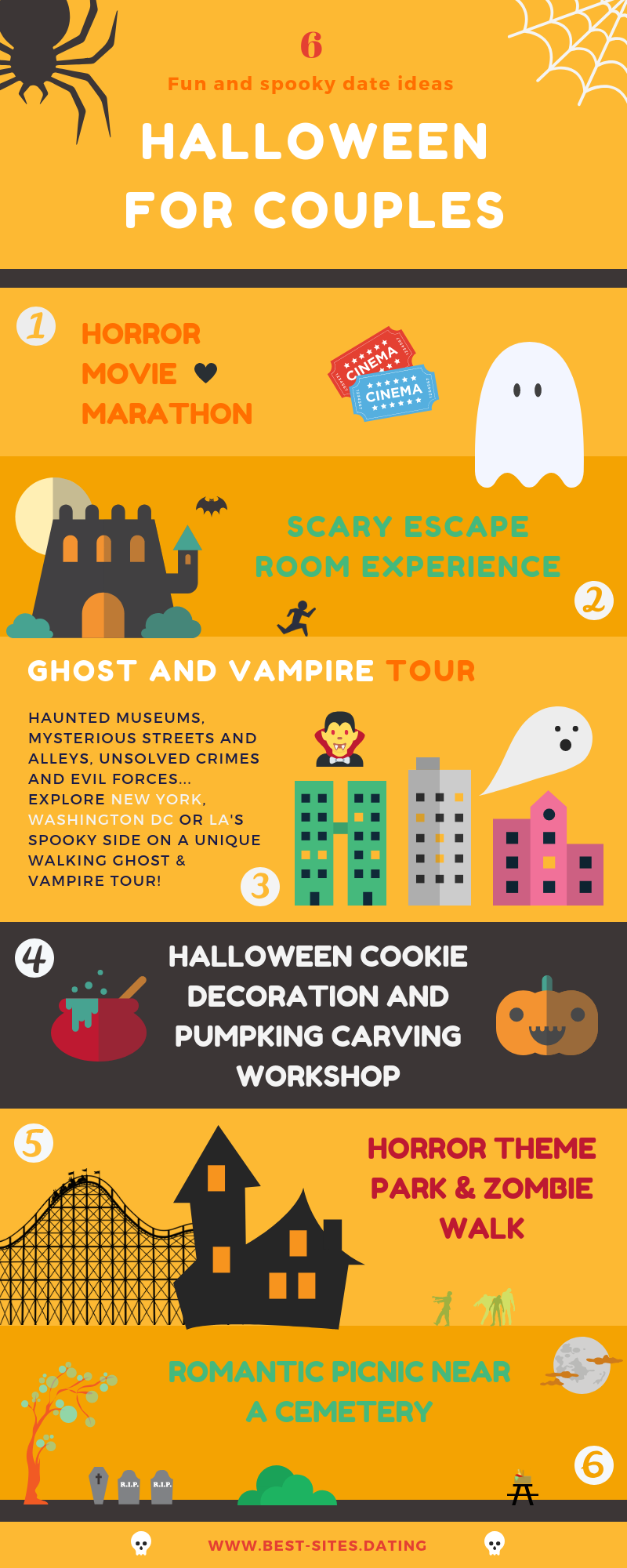halloween for couples: spooky date ideas [infographic]