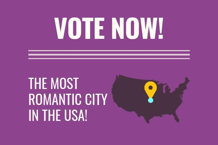 vote most romantic city usa