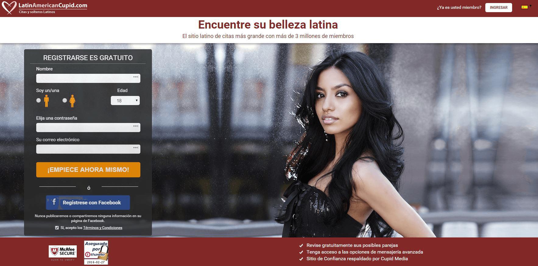 LatinAmericanCupid Opiniones | Mejores Webs Citas México