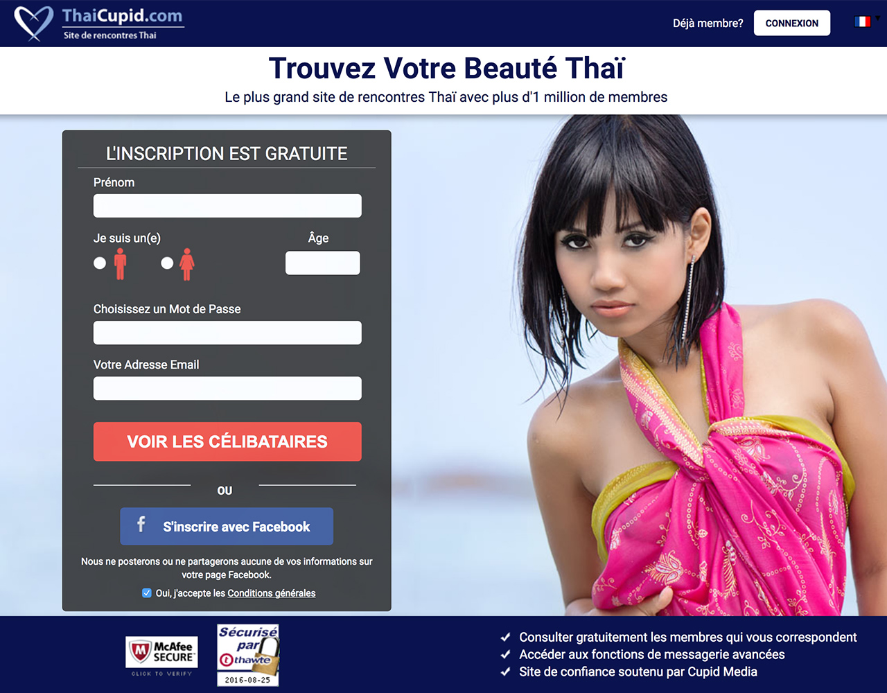 Sites de rencontre: ThaïCupid