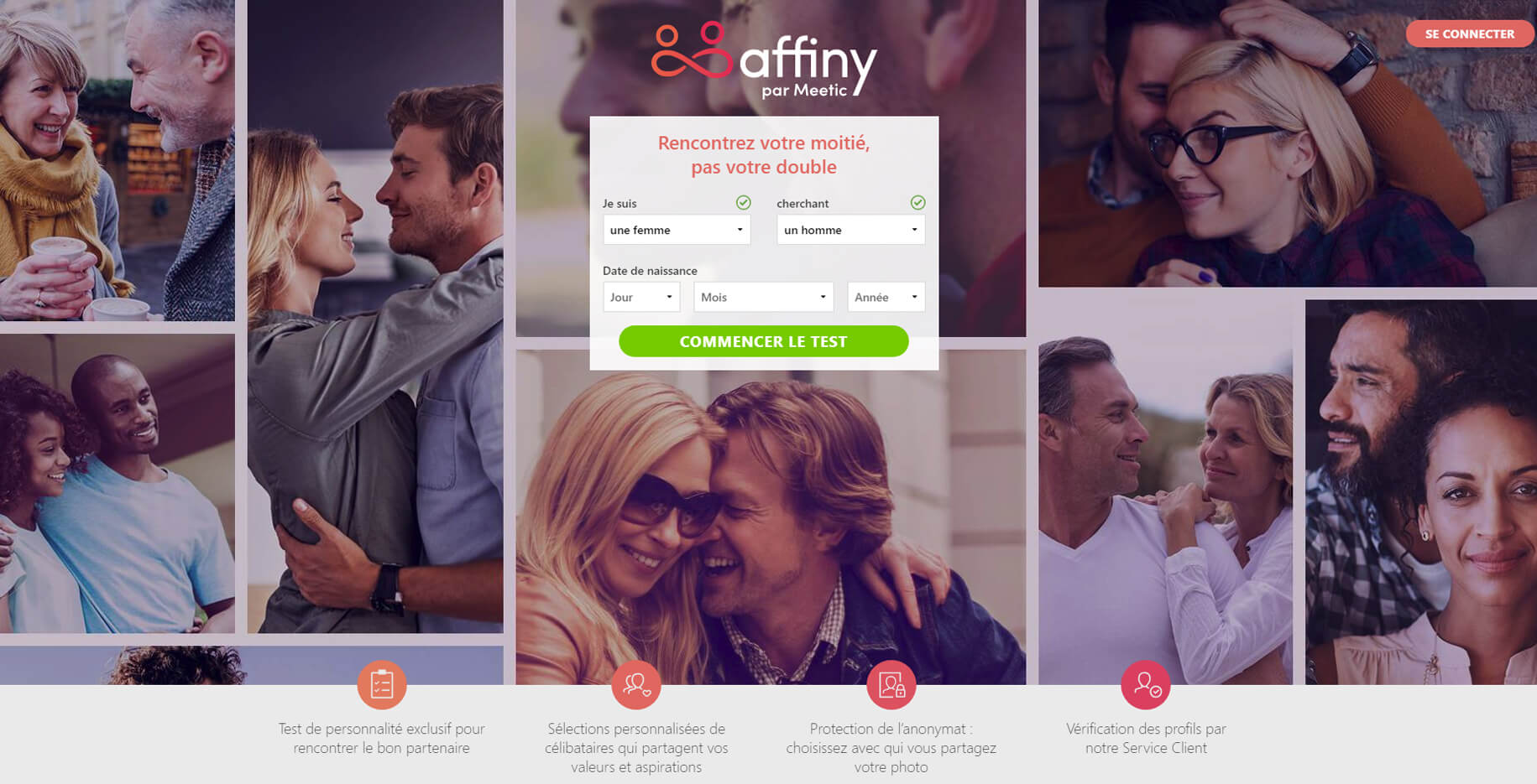 Sites de rencontre: Affiny par Meetic