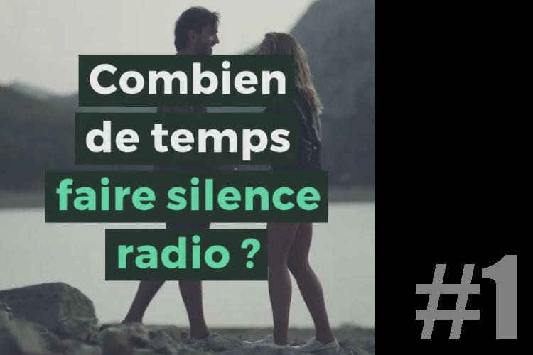 Pourquoi le silence radio est une mauvaise idée